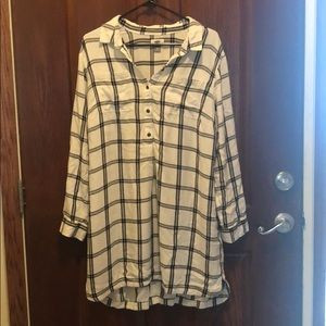 OLD NAVY - Plaid Flannel Dress